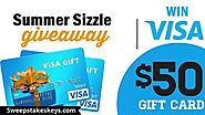Sizzle Your Summer Sweepstakes | Sweepstakeskeys