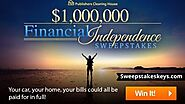 PCH Financial Independence Sweepstakes | PCH.com/sweepstakes