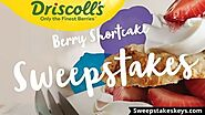Driscoll's Berry Sweepstakes: Win Visa Gift Cards | Sweepstakeskeys