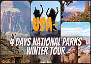 4 Days National Parks Winter Tour