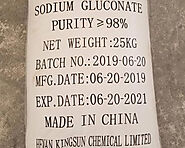 Sodium Gluconate Concrete Admixture - Kingsun Chemicals
