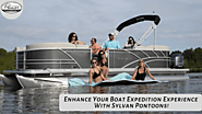 Enhance your boat expedition experience with Sylvan Pontoons!
