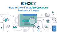 How to Know if Your SEO Campaign has been a Success - Bonoboz.in