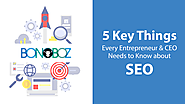 5 Key Things Every Entrepreneur and CEO Needs to Know About SEO