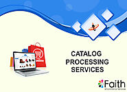 Professional Catalog Processing Services
