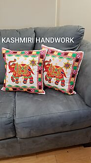 Embroidered Cushion Covers -