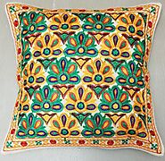 Kashmir Embroidery - Flowers