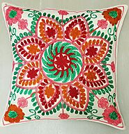 Kashmir Embroidery Floral
