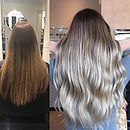 Babylight Hair Coloring Process in Coquitlam - Filomenasalonspa