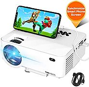 TOPVISION T21 Mini Cell Phone Projector Reviews in 2020 - Projector Love