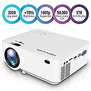 DBPOWER Mini Projector - A Good Portable Home Theater Projector - Projector Love