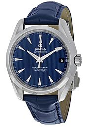 Replica Omega Aqua Terra 150m Master Co-Axial Blue Dial Men's Watch 231.13.39.21.03.001