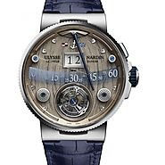 Ulysse Nardin Grand Deck Marine Tourbillon Mens Watch Replica 6300-300/GD