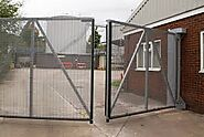 Electric swing gate Leeds | Swing Gates in Leeds and throughout the UK