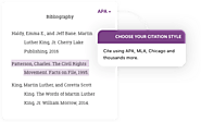 Citation Machine®: Format & Generate - APA, MLA, & Chicago