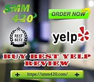 Buy Yelp Reviews - SMM420 100% real & customized