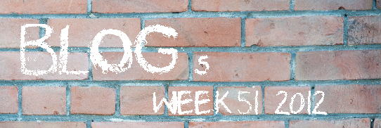 Headline for Top 10 Blog Posts Of Week 51 2012