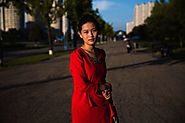 Photos: A striking glimpse of women's street style in North Korea