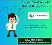 Are you troubling with inhouse medical billing service?