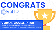 Certif-ID Enrolled to German Accelerator Southeast Asia Class 2020-1