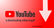 Legal way to Download YouTube video