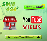 Buy YouTube Views - SMM420 100% Real & Non-drop
