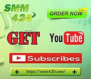 Buy Subscribe For YouTube - SMM420 All YT subscribers are permanent