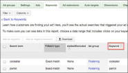 New column makes keyword management easier - Inside AdWords