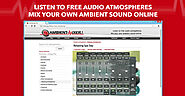 LISTEN TO THIS - Listen and create ambient sounds easily