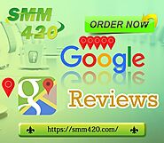 Google Places Reviews Buy - SMM420 Exclusive customer support