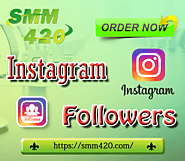 Buy Instagram Followers - SMM420 100% Real & Non-drop