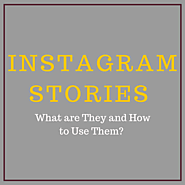 Instagram Stories – What are They and How to Use Them? - The Marketing Barn
