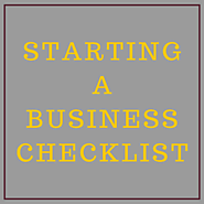 Starting a Business Check List - The Marketing Barn