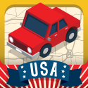 Geography Drive USA™ By Spinlight Studio