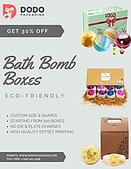 Wholesale Printed Custom Bath Bomb Boxes Packaging