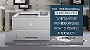 Why Hp Printer is Offline 1-8009837116 Hp Printer Driver Unavailable Fixes