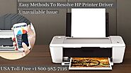 Hp Printer Driver Unavailable Instant Fixes 1-8009837116 Call Now