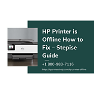 Hp Printer Offline How to Fix 1-8009837116 Instant Experts Help Fix Hp Printer Offline