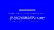 Steve Ballmer wrote the Blue Screen of Death message