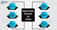 Important Awards in India - DataFlair