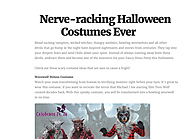 Nerve-racking Halloween Costumes Ever