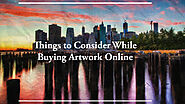 Things to Consider While Buying Artwork Online | Akkaara