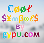 Greek Symbols - Cool Greek Symbols α β γ δ ε