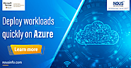 Deploy Workloads Quickly on Azure