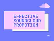 Soundcloud for Organic Promotion