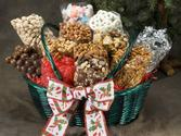 Twelve Tastes Candy and Snacks Basket