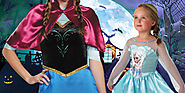Dress Up Like Elsa, The Snow Queen – Halloween 2016