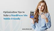 How to Optimize Your WordPress Website for Mobile Users?