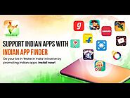Indian App Finder - Support Indian Apps