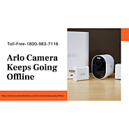 Arlo Camera Keeps Going Offline 1-8009837116 Arlo Camera Stopped Recording Fixes